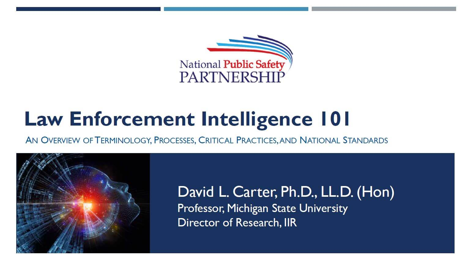 Intelligence 101 slide